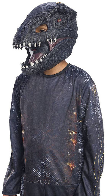 Villain Dinosaur 3/4 Child Mask
