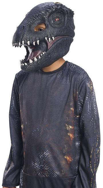 Villain Dinosaur 3/4 Child Mask