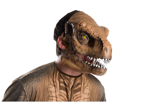 T-Rex Movable Jaw Adult Dinosaur Mask