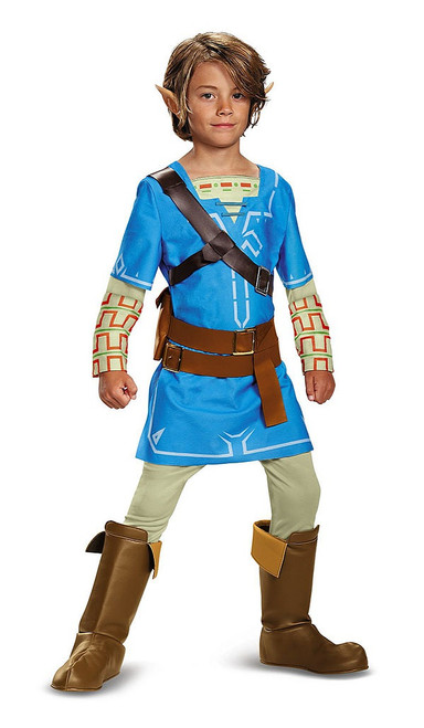 Link Breath Of The Wild Teen Costume