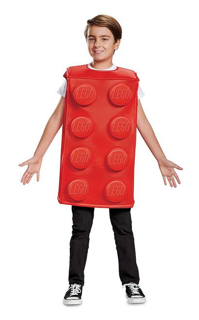Lego Red Brick Boys Costume