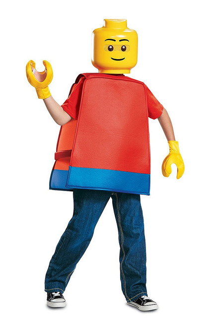 Lego Guy Basic Costume