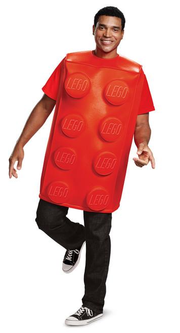 Lego Red Brick Adult Costume