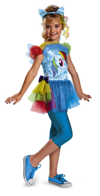 Rainbow Dash My Little Pony Costume