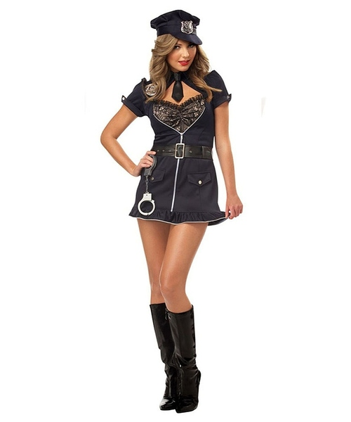 Candy Cop Womens Costume