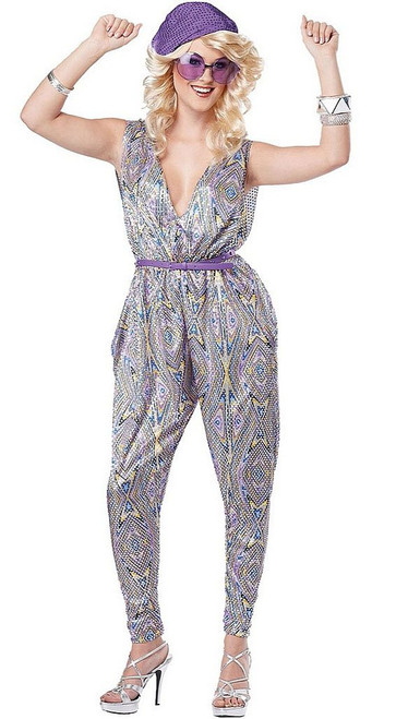 Boogie Fever Womens Jumpsuit