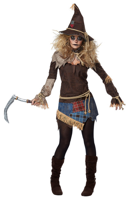 Creepy Scarecrow Womens Costume