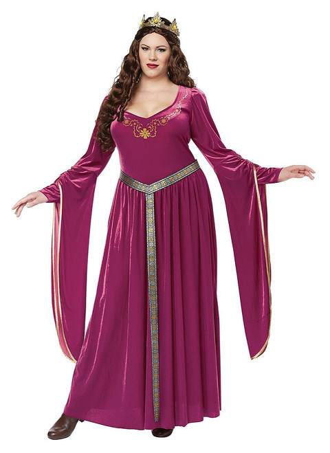 Lady Guinevere Red Plus Costume