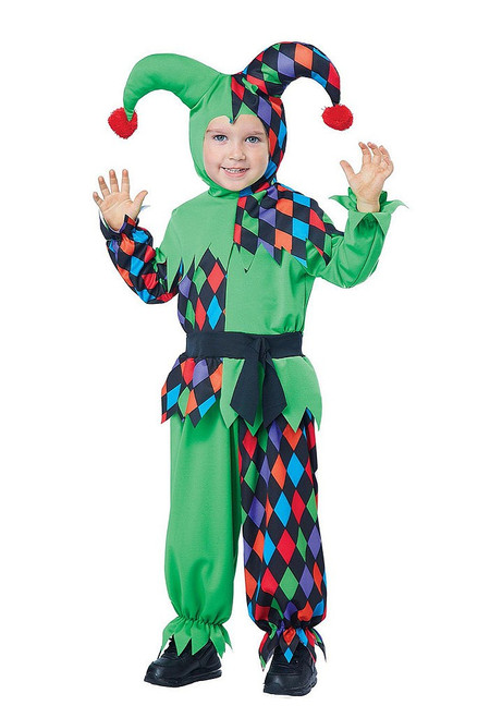 Junior Jester Toddler Costume