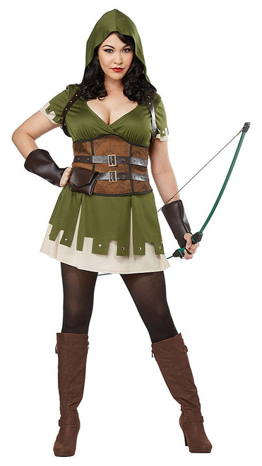 Lady Robin Hood Plus Costume