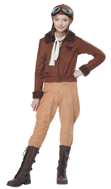 Amelia Earhart Aviator Child Costume