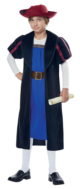 Christopher Columbus Explorer Child Costume