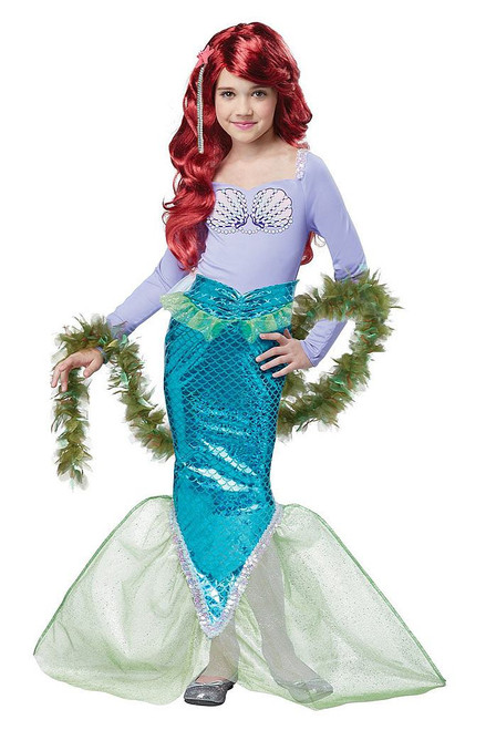 Magical Mermaid Child Costume