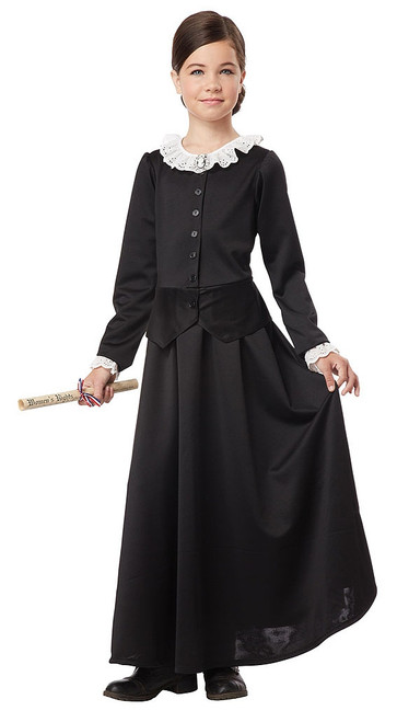 Victorian Suffragette Child Costume