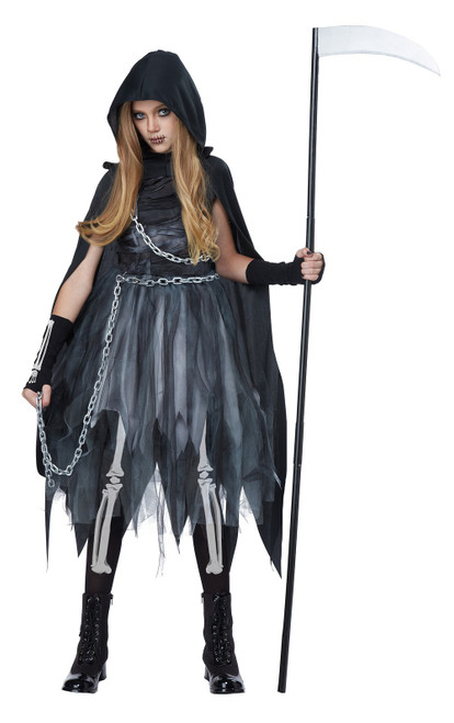 Reaper Girl Child Costume