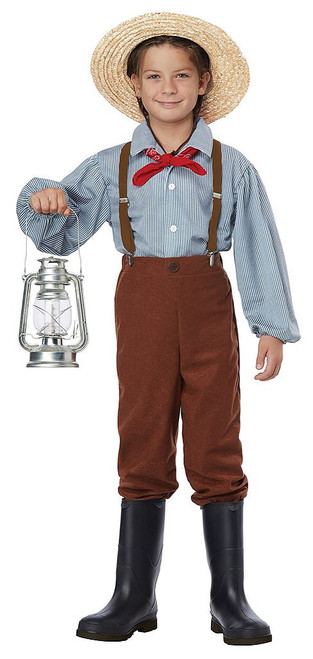 Pioneer Boy Child Costume