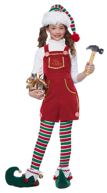 Toymaker Elf Girls Costume