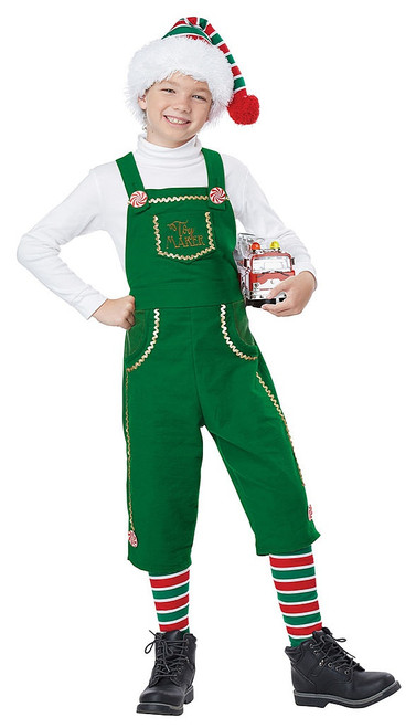 Toymaker Elf Boys Costume
