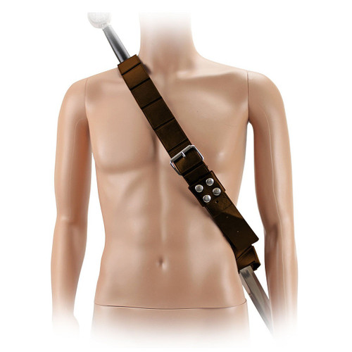 Brown Han Artificial Leather Belt