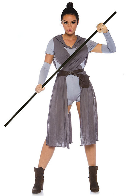 Rey Galaxy Rebel Womens Costume