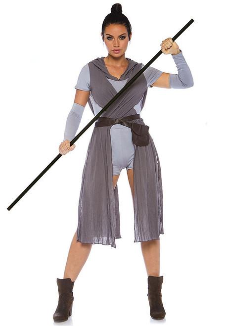 Rey Galaxy Rebel Womens Costume