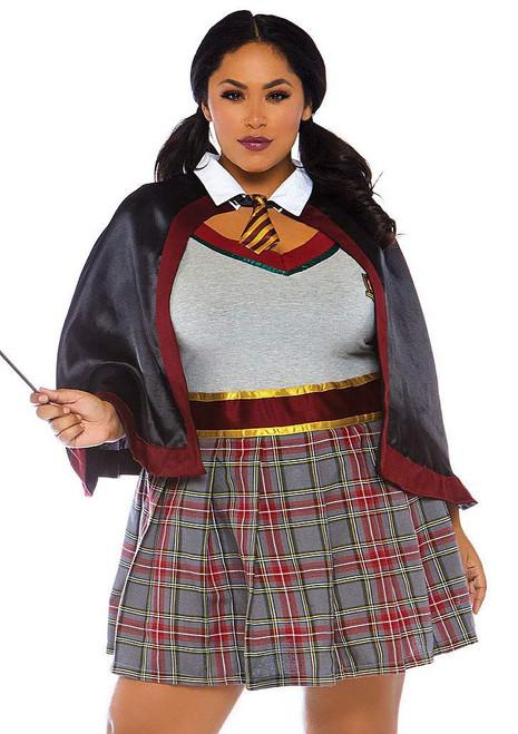 Spellbinding Hermione Adult Costume Plus