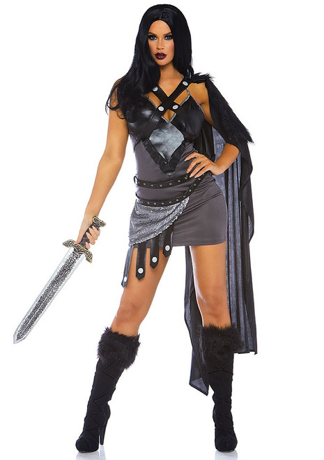 Medieval Warrior Womens Costume