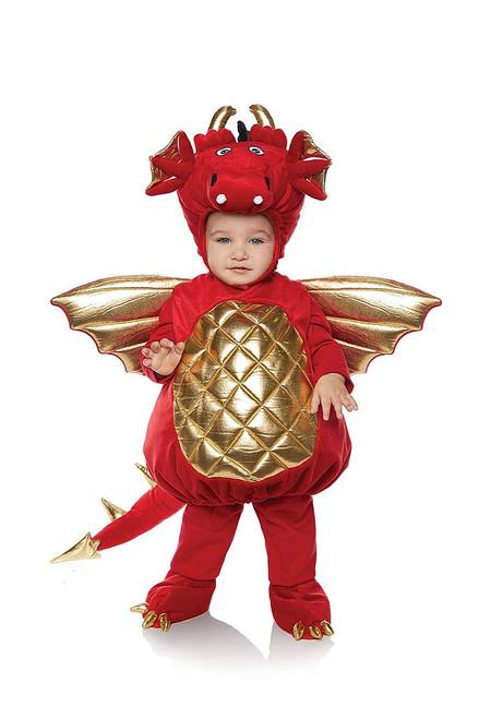 Red Dragon Plush Costume