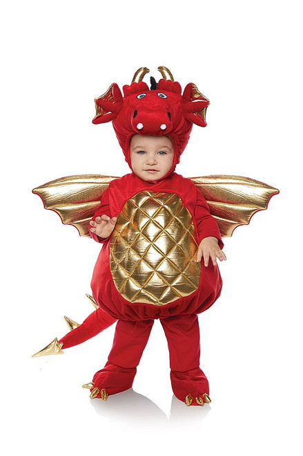 Red Dragon Plush Costume