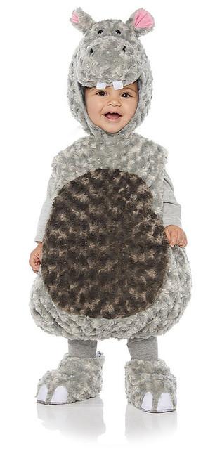 Hippo Toddler Plush Costume
