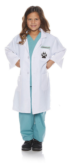 Veterinarian Lab Coat Child Costume