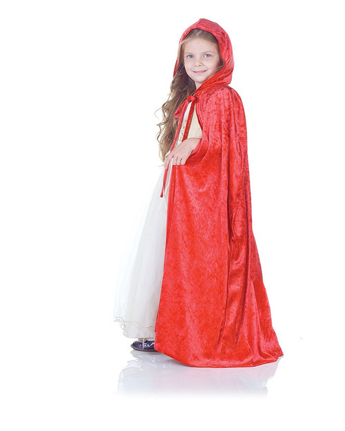 Red Panne Childrens Cape
