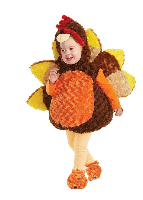 Turkey Plush Toddler Costume