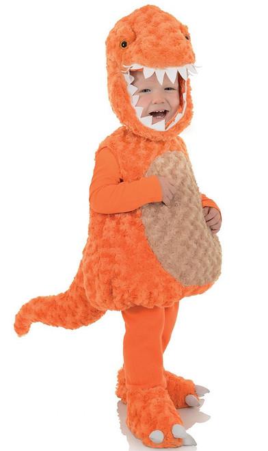 T-Rex Orange Toddler Costume