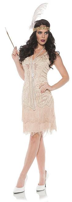 1920 Rose Flapper Dress