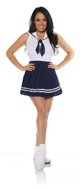 Sailor Skirt Set in Navy