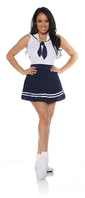 Sailor Skirt Set in Navy