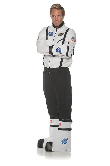 Astronaut Adult Boot Tops in White
