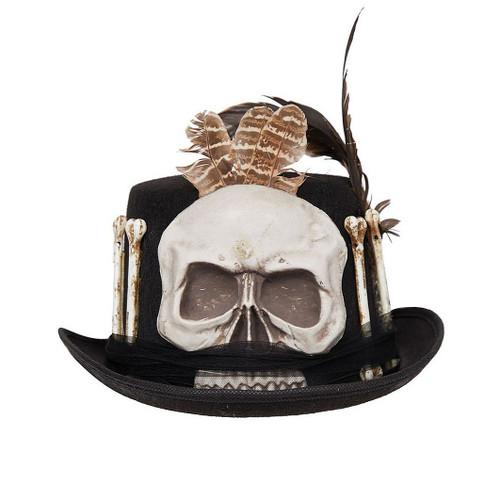 Skull And Bones Top Hat