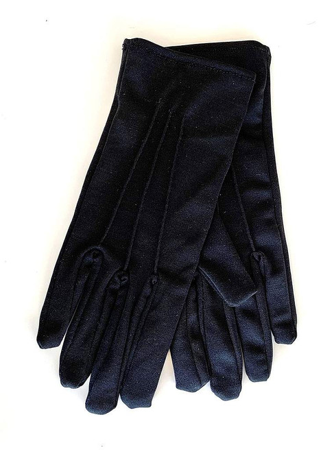 Wrist Gloves in Matte Black