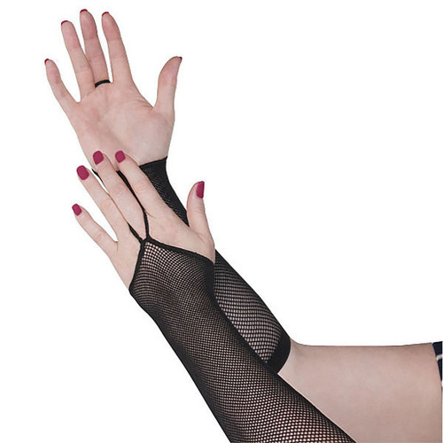 80s Fishnet Arm Warmer