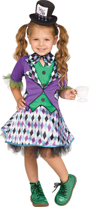 Mad Hatter Toddler Girl Costume