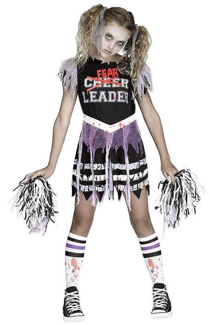 Zombie Fearleader  Child Costume
