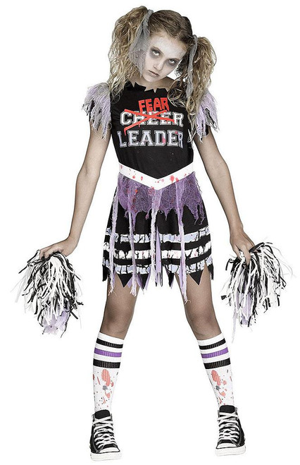 Zombie Fearleader  Child Costume