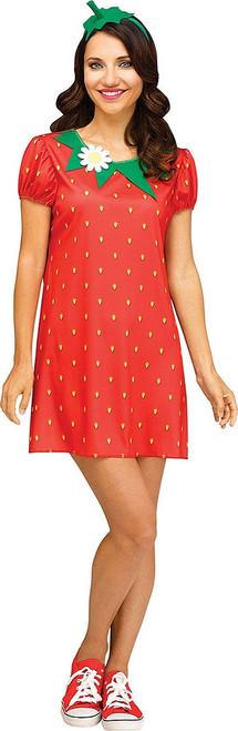 Womens Strawberry Costume