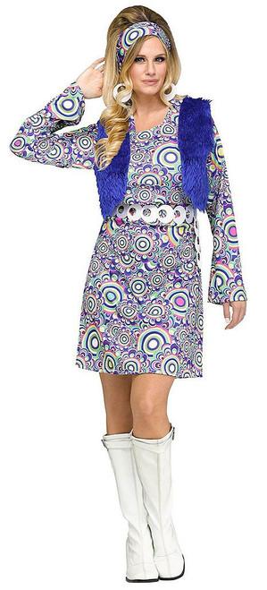 Shaggy Chic Womens Gogo Costume