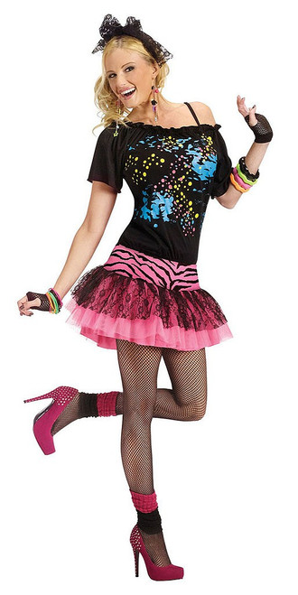 80's Pop Party Womens Costume