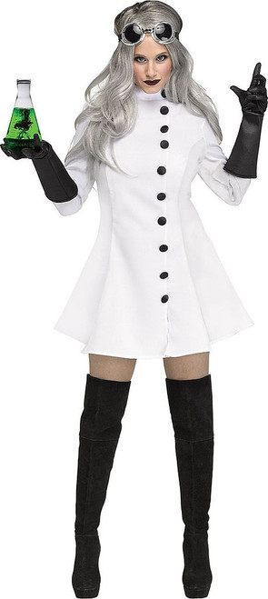 Mad Scientist Womens Costume