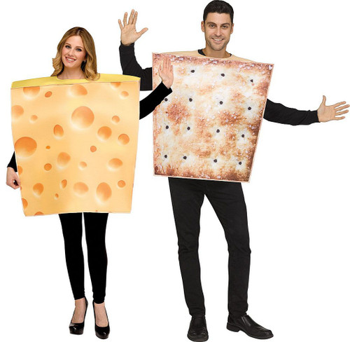 Cheese & Cracker Adult Costume