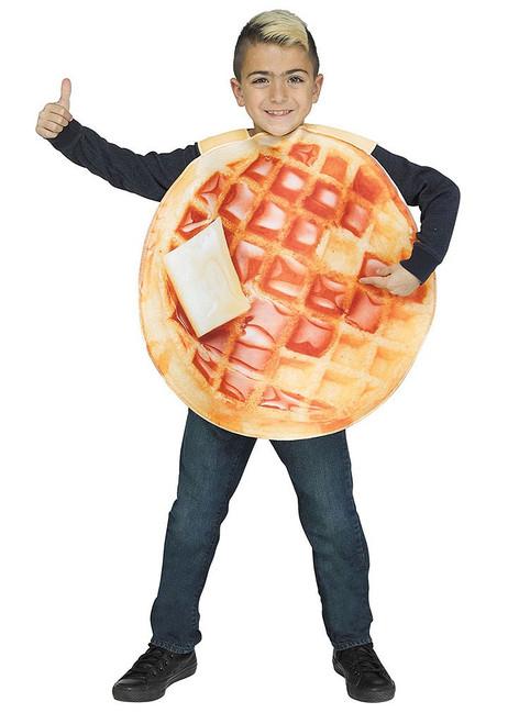 Waffle Child Costume